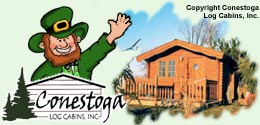 Enjoy a rental cabin from Conestoga Log Cabins!