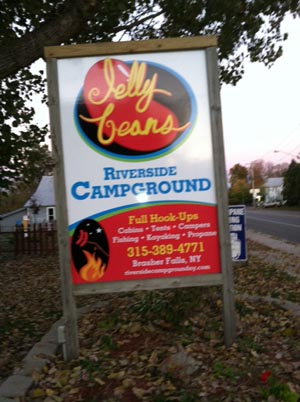 Riverside Campground is along the St. Regis River in the Seaway Valley of northern New York!